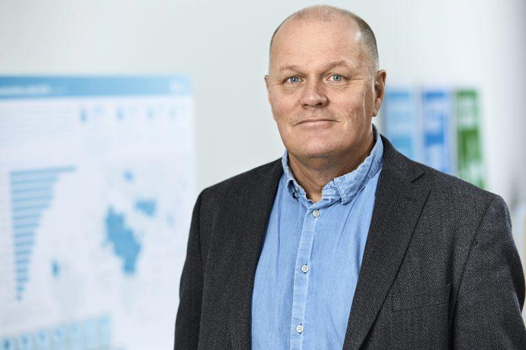 Göran Holmqvist chef för Sidas avdelning HUMASIEN